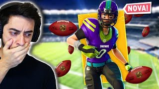 "AMERICAN FOOTBALL AT FORTNITE! (""RARE"" SKIN)"