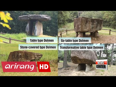 UNESCO World Heritage Sites in Korea: Gochang, Hwasun, and Ganghwa Dolmen sites