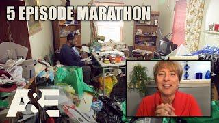 Hoarders Top Episodes MARATHON - Binge Them w/ Dorothy the Organizer! Part 3 | A&E