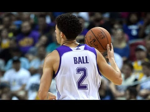 Lonzo Ball's HUGE game vs 76ers! 36 points, 11 assists, 8 rebounds! NBA Summer League 2017