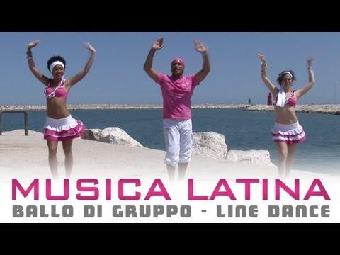 MUSICA LATINA - ballo di gruppo estate | line dance - bachata salsa cha cha cha merengue