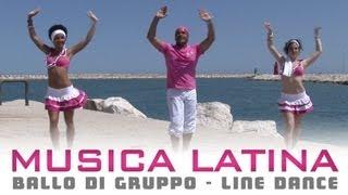 MUSICA LATINA - ballo di gruppo estate | line dance - bachata salsa cha cha cha merengue thumbnail