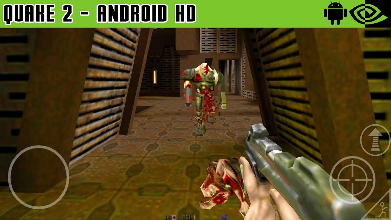 Quake 2 Gameplay Nvidia Shield Tablet Android 1080p