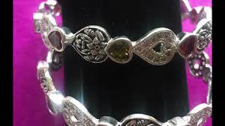 New trendy silver bangles