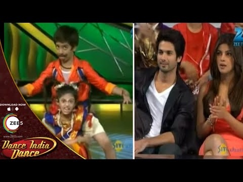 Shahid and Priyanka STUNNED With This Performance - DID L'il Masters Season 2