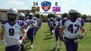 Lions Bergamo Vs Guelfi Firenze 2017 Highlights