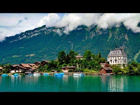 Interlaken, Suiza - Paisajes hermosos