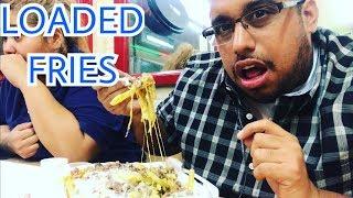 LOADED Carne Asada Fries MUKBANG! Messy/Sloppy Eating Sounds | Mexican Food Mukbang