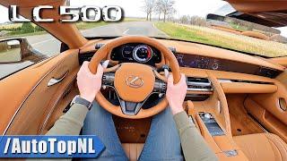 2021 Lexus LC500 Convertible 5.0 V8 N/A SOUND & POV Drive By AutoTopNL