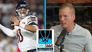Chris Simms isn't buying Mitchell Trubisky's hip injury excuse | Chris Simms Unbuttoned | NBC Sports