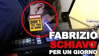 MIO FRATELLO Fabrizio... SCHIAVO Per Un Giorno!