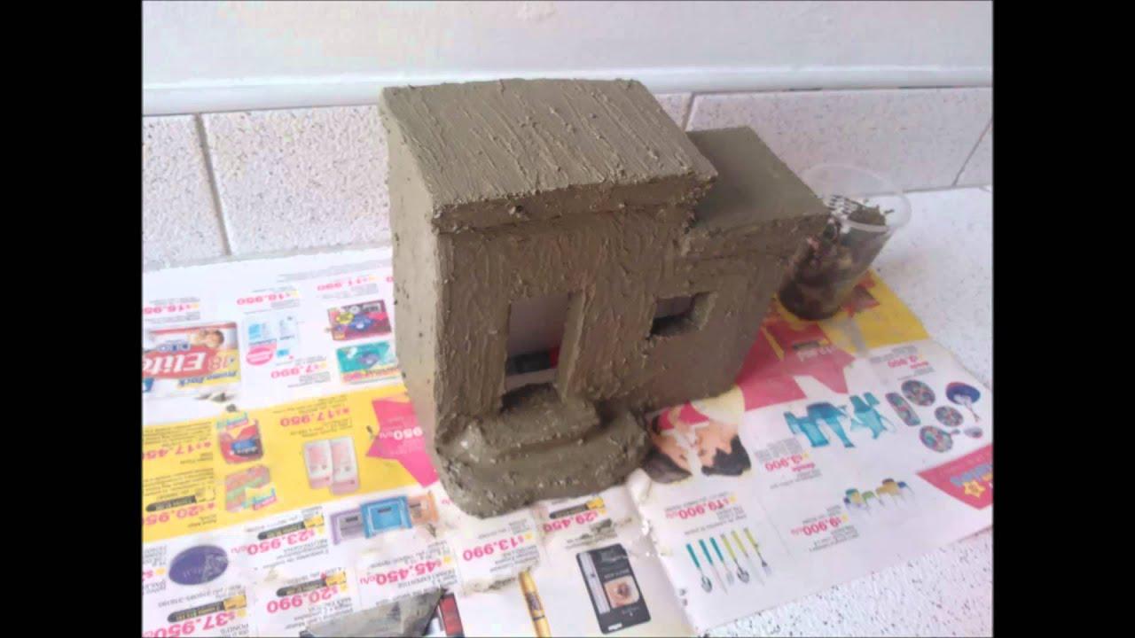 Casa para pesebre parte 1 diy youtube - Casas miniaturas para construir ...