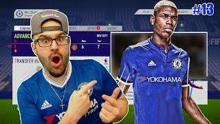 OMG PAUL POGBA TO CHELSEA!! - FIFA 18 CHELSEA CAREER MODE #13