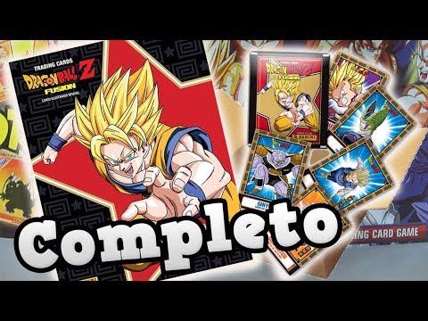 Completando o Álbum de Cards Dragon Ball Z Fusion