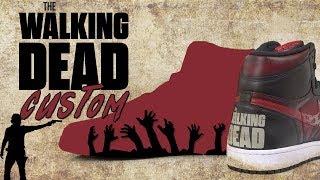 Walking Dead Custom  Air Jordan 1 by Vick Almighty