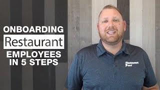 Onboarding restaurant employees in 5 ...
