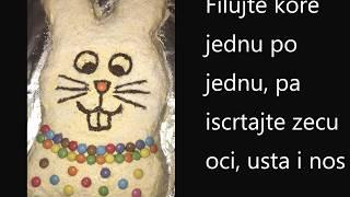 Uskršnja zec torta-Recept/Hasenkuchen schmeckt nicht nur zur Osterzeit - Rezept