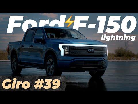 FORD F-150 LIGHTNING - 100% ELÉTRICA /  #Giro 39
