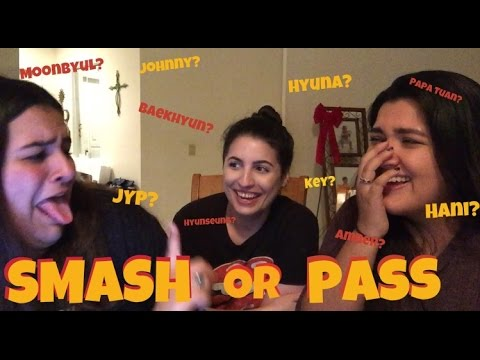 SMASH OR PASS CHALLENGE KPOP EDITION | KMREACTS ft. KRYSTAL
