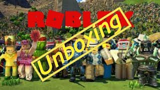 Roblox Into Unboxing #unboxing