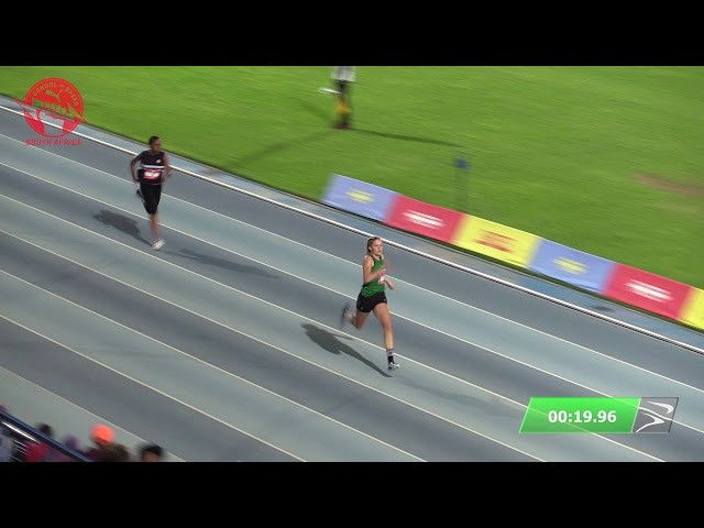 Final Girls 17 200m - 2020 Tuks PUMA School of Speed