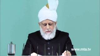 French Friday Sermon 9th December 2011 - Islam Ahmadiyya