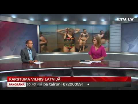 Karstuma vilnis Latvijā