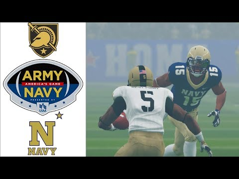 Army-Navy | America's Game 2019 | NCAA Football 20 Rosters #GOARMY