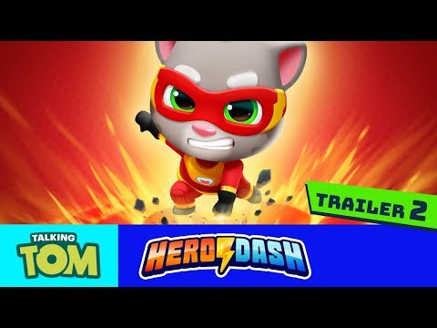 🦸⚡HEROES WANTED 🦸⚡ Talking Tom Hero Dash (Official Trailer 2)