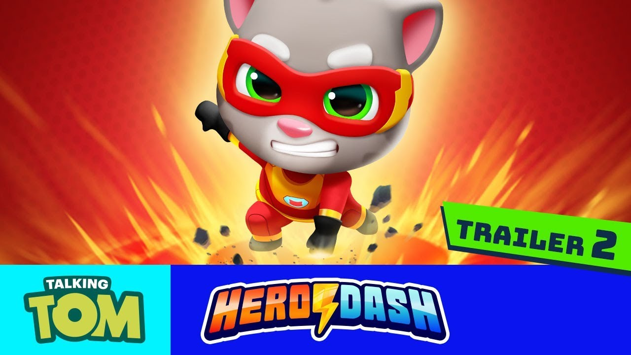 Heroes Wanted Talking Tom Hero Dash Official Trailer 2