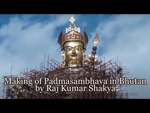 Making Of Padmasambhava In Bhutan By Raj Kumar Shakya