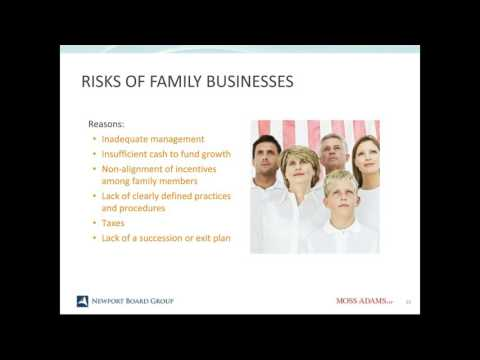 Family & Business Succession Planning: Are You and Your Family Exit Ready?
