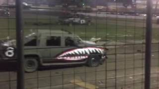 2016 Rockford Speedway Trailer Race of Destruction!!