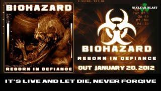 BIOHAZARD - Reborn (OFFICIAL LYRIC VIDEO)