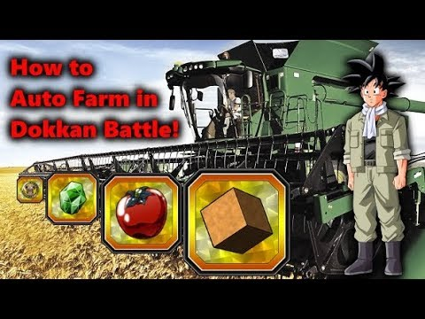 HOW TO ACTIVATE AUTO FARM IN DRAGON BALL Z DOKKAN BATTLE