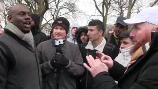 Clash of Knowledge! Hamza vs SaRa, Rob etc | Speakers Corner | Hyde Park