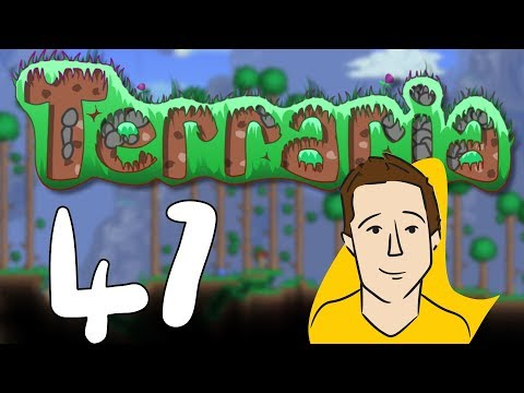 """Let's Play! - Terraria BLIND (Part 47 - """"A Big Hole"""")"""