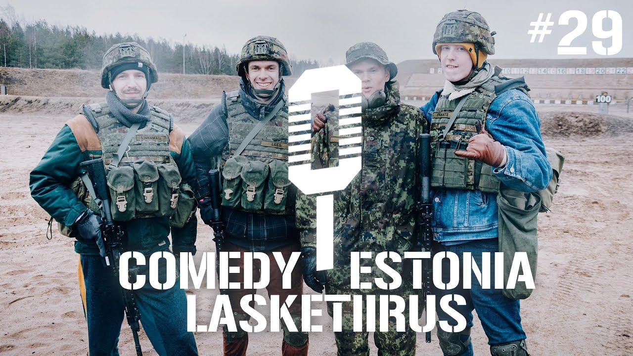 Sõdurilehe podcast | #29 Comedy Estoniaga lasketiirus