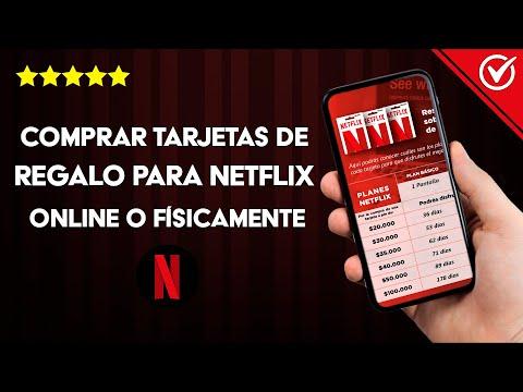 Cómo y Dónde Comprar Tarjetas de Regalo para ver Netflix Online o Físicamente