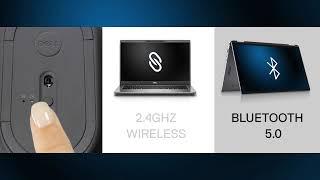 Dell PRO bezdrátová optická myš MS5120W (Black) 570-ABHO MS5120W-BLK, P0R42, 9JRXD