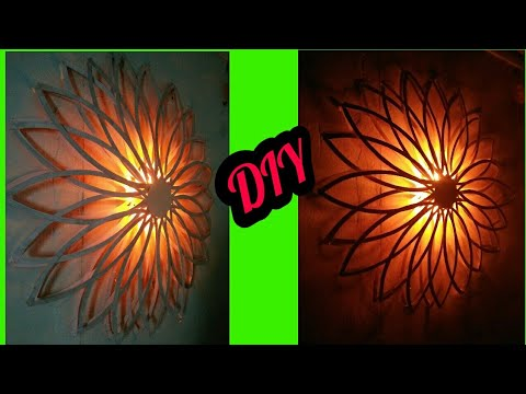 Diy Wall Decor With Lights Diy Home Decor Diy Paper Lamp Paper Wall