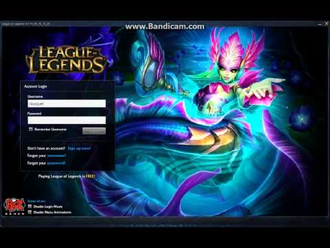 River Spirit Nami Login Screen (client)