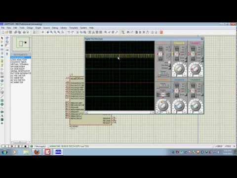 MikroC +Pic16F887 - Using PWM avi
