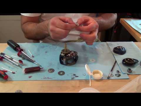 Maintaining Your Baitcaster Reel:  Part 3 - Assembly