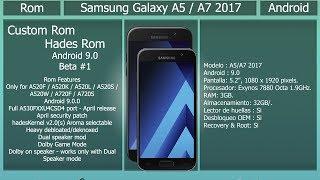 Android Pie S8 Custom Rom