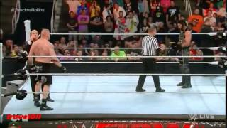 Download Brock Lesnar vs Seth Rollins for the WWE World Heavyweight Championship on Raw (March 30th, 2015) Mp3 and Videos