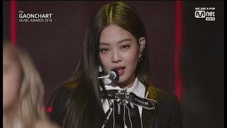 BLACKPINK - 'DDU-DU DDU-DU' + 'FOREVER YOUNG' in 2019 Mnet Gaon Chart Music Awards