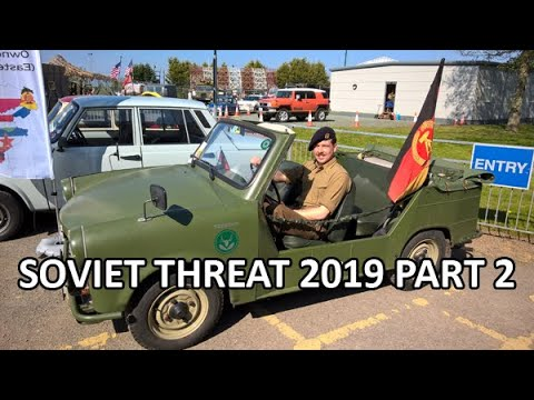 Soviet Threat, Hack Green Nuclear Bunker 2019 Part 2 - Show Report