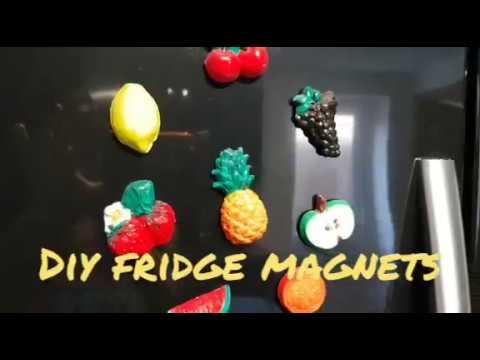 Diy fridge magnets  how to make diy fridge magnets explain in tamil