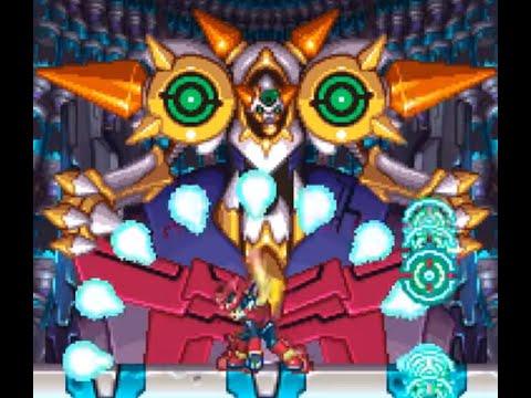 Megaman ZX [Hard] Part 19 - Model Ox Vent VS Pseudoroids + Serpent